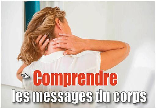 message du corps
