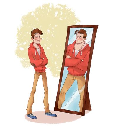 guérir miroir